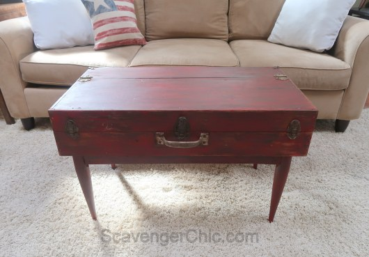Upcycled Tool box, Saw box, coffee table