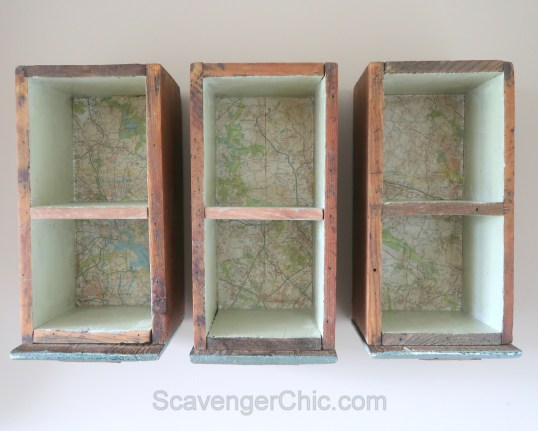 Upcycled, Recycled, Repurposed Drawer Shelves-007