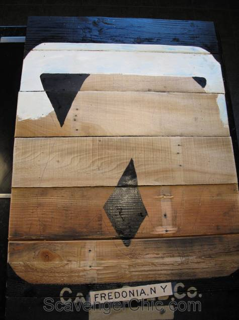 Vintage Carrot Seed Packet Pallet Wood Sign-003