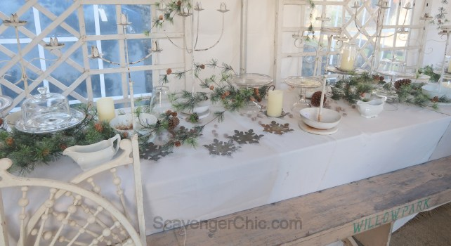 Chartreuse and Co. Holiday Sale and Scavenging Inspiration