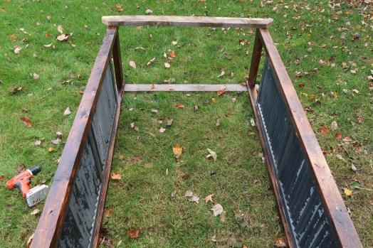 DIY Shutter Arbor