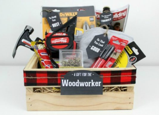 Homemade and DIY Gifts = Woodworking Gift Crate.bmp