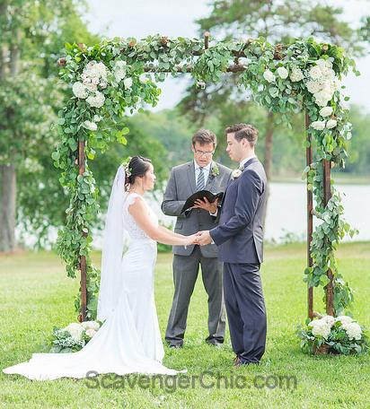 Stick Wedding Arbor
