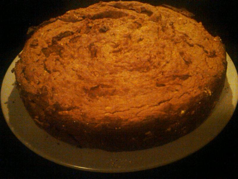 SCD Recipe: Pumpkin Cake