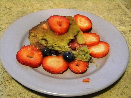 SCD Recipe: Vanilla Berry Cake