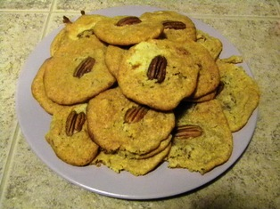 SCD Recipe: Lemon Pecan Butter Cookies