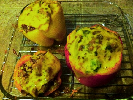 SCD Recipe: Bacon Cheeseburger Stuffed Peppers