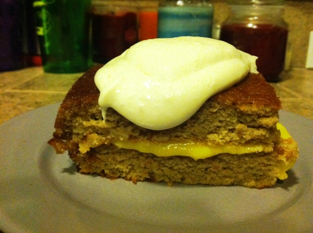 SCD Recipe: Glazed Lemon Tea Cake with Lemon Curd Filling