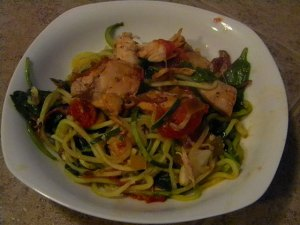 Paleo-Braised-Tomato-Chicken-and-Spinach-Zoodles