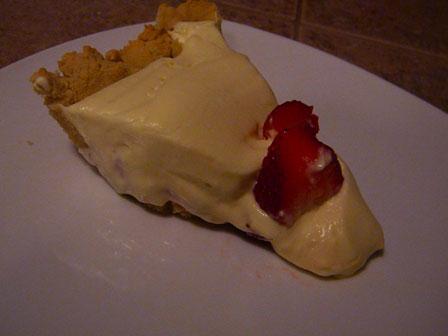 SCD Recipe: Strawberry Lemonade Cream Pie