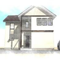 F様邸新築工事 概要:二階建て  43坪 (完成)