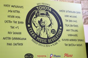 Toyota Texas Music Revolution line-up announced