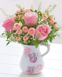 Mothers Day Flower Jug