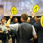 SNP supporters on 2015 election night