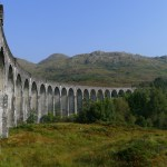 Glenfinnan Viaduct on West Highland Line: photo Martin Deutsch