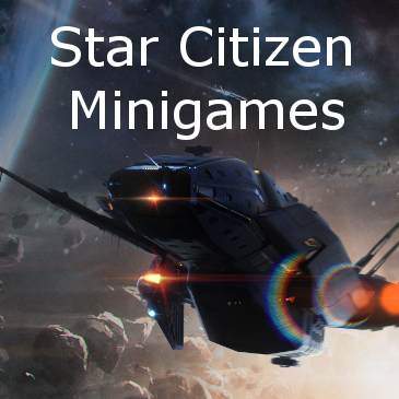 Star Citizen Minigames on RSI Website