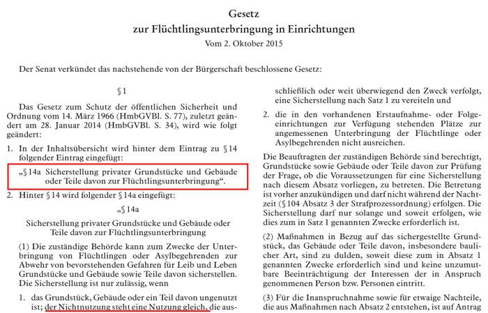 Flüchtlinge haben in Hamburg ab sofort Vorrang – BRD schafft ...
