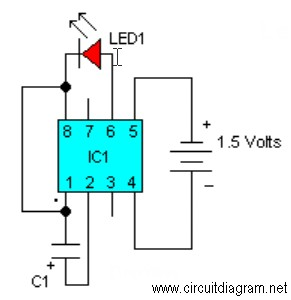 LED Flasher with LM3909
