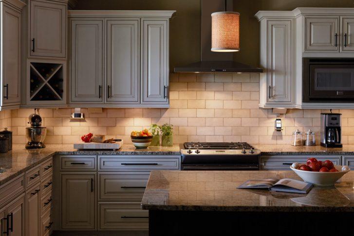 cabinet lighting kitchen cabinet lights LED Strip Lights or Puck Lights