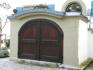 Eingang zum Weinkeller (heute Privatbesitz)