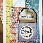 Greeting Card With Pocket and Tag
