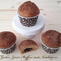Frustbacken: Zucker-Zimt-Muffins mit Nutellakern