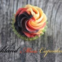 {Fußball-Fieber} Schland-Mini-Cupcakes