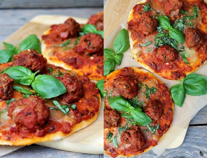 Meatball Pizza 2