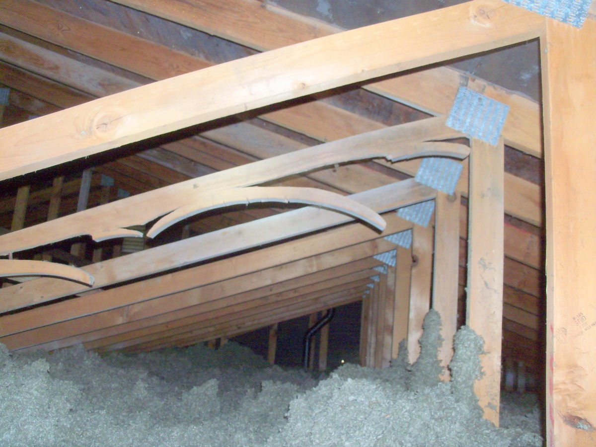 Engineered Framing Trusses Used In Roof Framing School