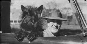 FAla & Roosevelt in Car