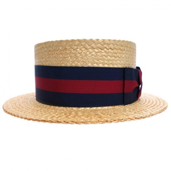 Vintage Boater Hat vintage blog