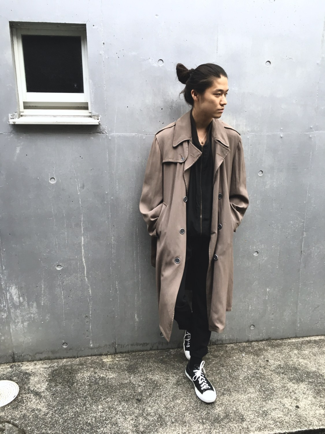 Vintage Gabardine Trench Coat Part2 test vintage styling blog