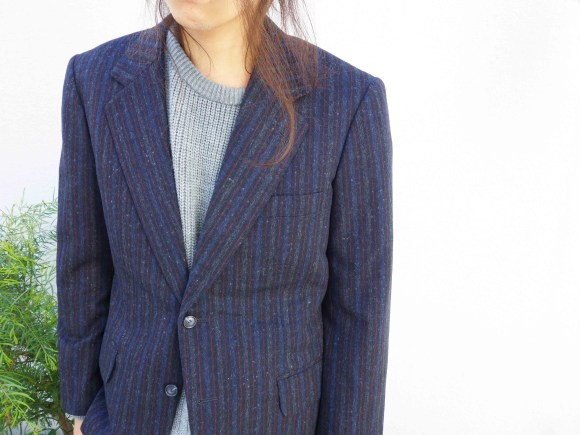 Vintage Set Up Suit styling blog