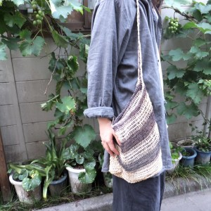 Vintage Border Jute Bag blog