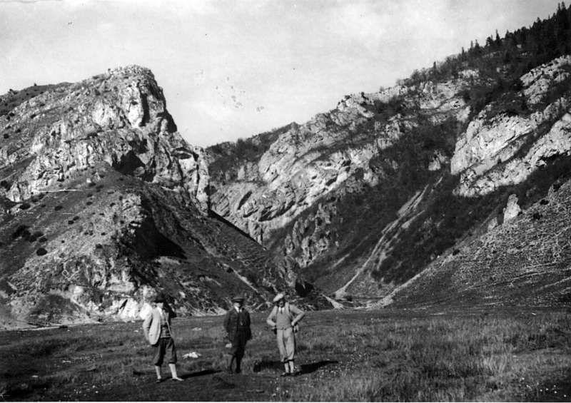 Vstup do Prosieckej doliny, foto V.Benický - 50.-60.roky