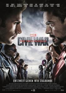 Captain America 3 The First Avenger: Civil War Plakat