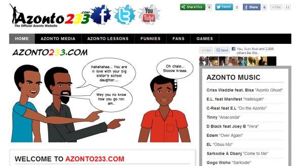 Azonto233: The official Azonto website