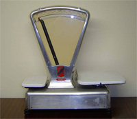 Measuring scales (image from Wikimedia Commons)