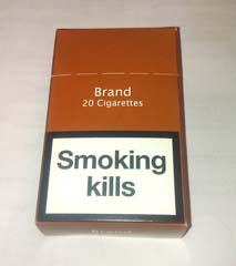 Plain packaging will prevent children from starting smoking