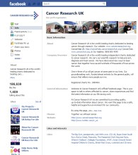 Cancer Research UK Facebook Page