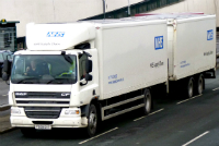 NHS supply lorry