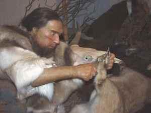 Neandertaler-im-Museum