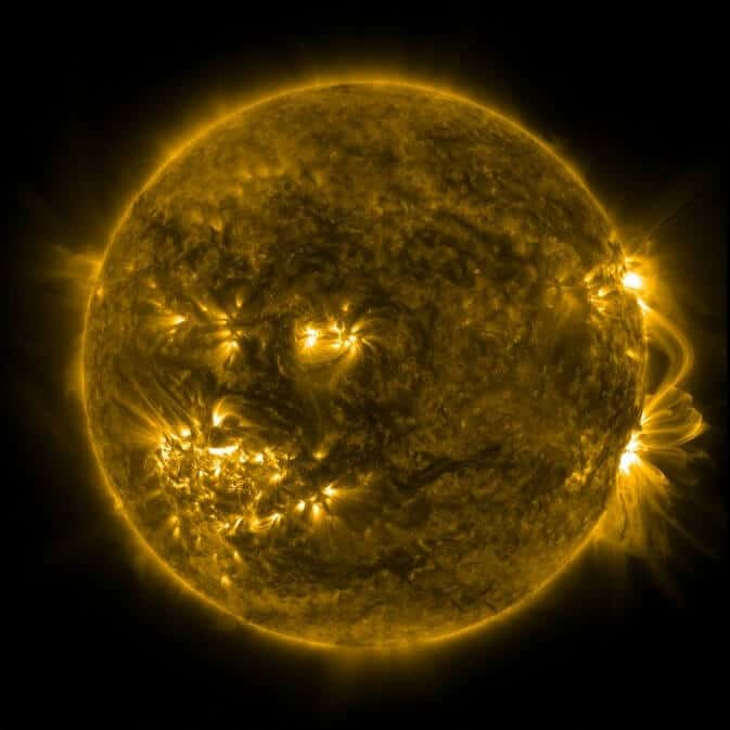 Sounding rocket to study active regions on the sun