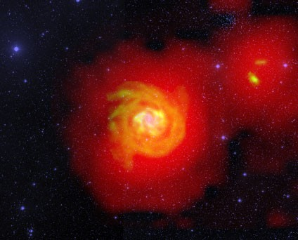 River of Hydrogen Seen Flowing through Space