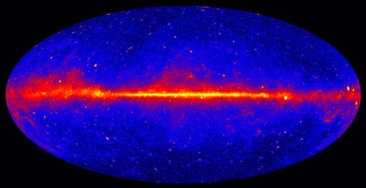 Gamma rays shed light on dark matter's shrouded life