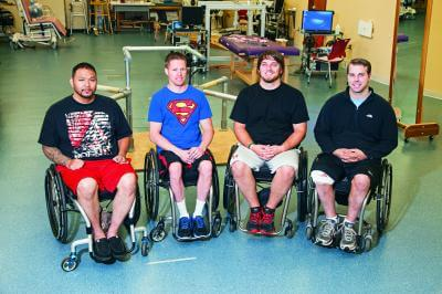 Spinal stimulation helps 4 paralyzed patients regain voluntary movement