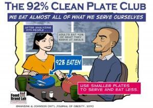 The 92 Percent Clean Plate Club