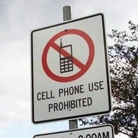 No evidence that California cellphone ban decreased accidents