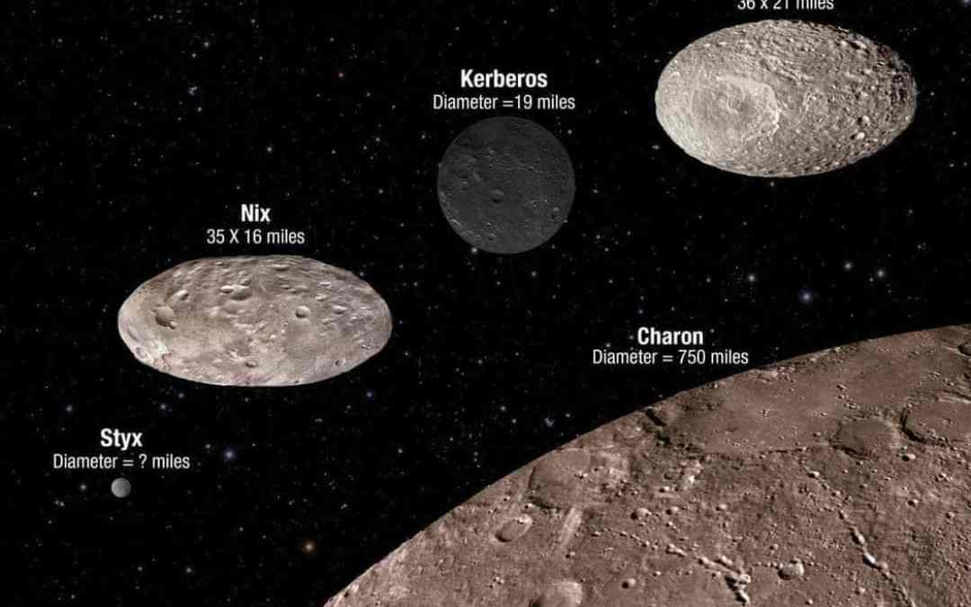 NASA's Hubble finds Pluto's moons tumbling in absolute chaos