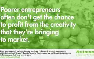 Poor communities a 'hotbed' of entrepreneurial creativity, but need help to grow long-term